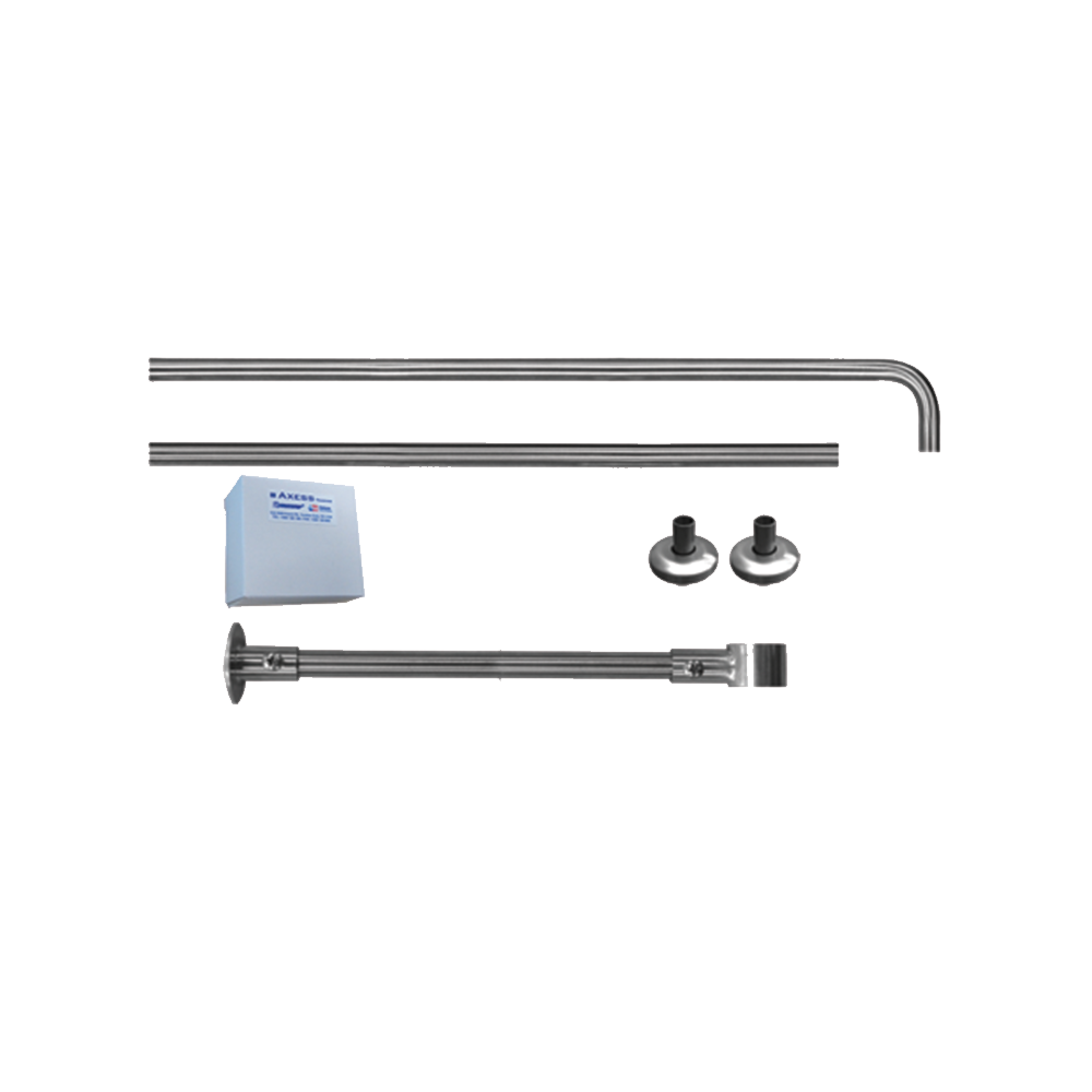 Stainless Steel Shower Curtain Rail From Axess Trading