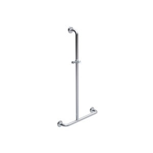 inverted T shower rail.
