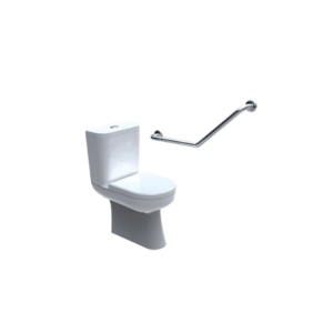 40 degree ambulant toilet grab rail