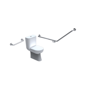 accessible toilet grab rails