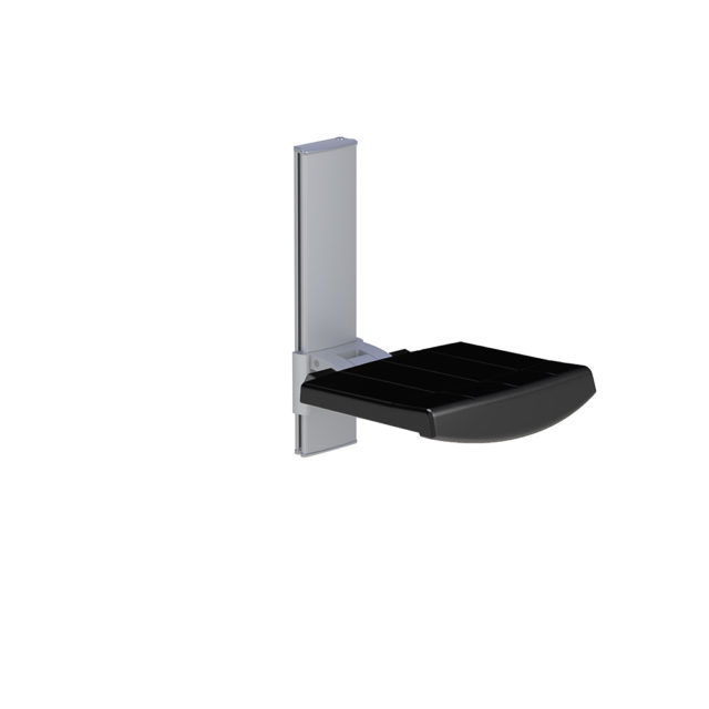 Variation #335 of WALL MOUNTED SHOWER SEAT, HEIGHT ADJUSTABLE