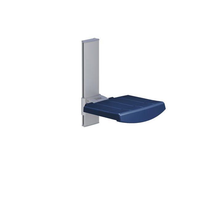 Variation #334 of WALL MOUNTED SHOWER SEAT, HEIGHT ADJUSTABLE