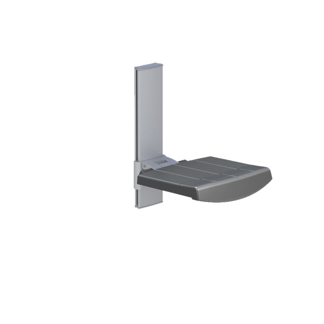 Variation #333 of WALL MOUNTED SHOWER SEAT, HEIGHT ADJUSTABLE