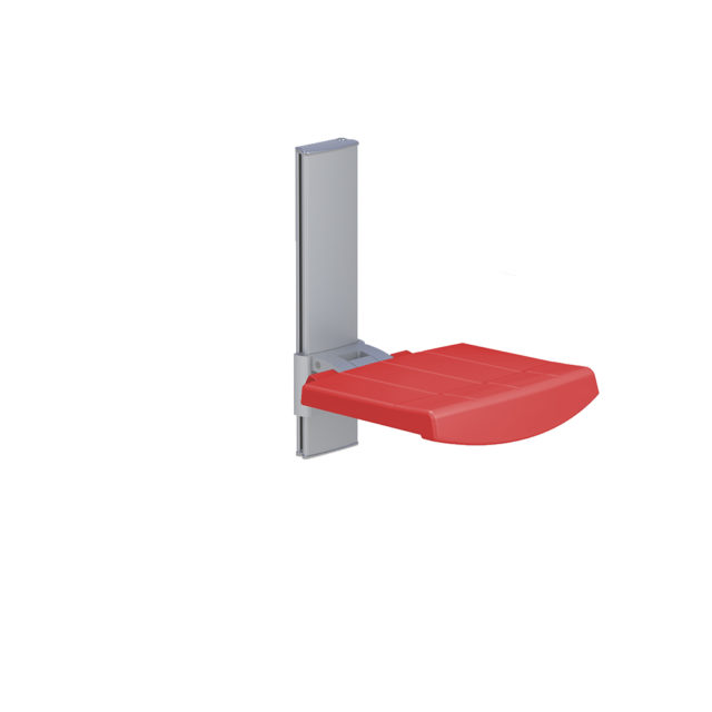 Variation #332 of WALL MOUNTED SHOWER SEAT, HEIGHT ADJUSTABLE