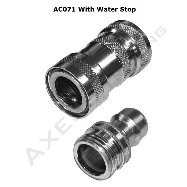 AC070 - SHOWER ACCESSORIES - Quick Release Shower Hose Couplings 2
