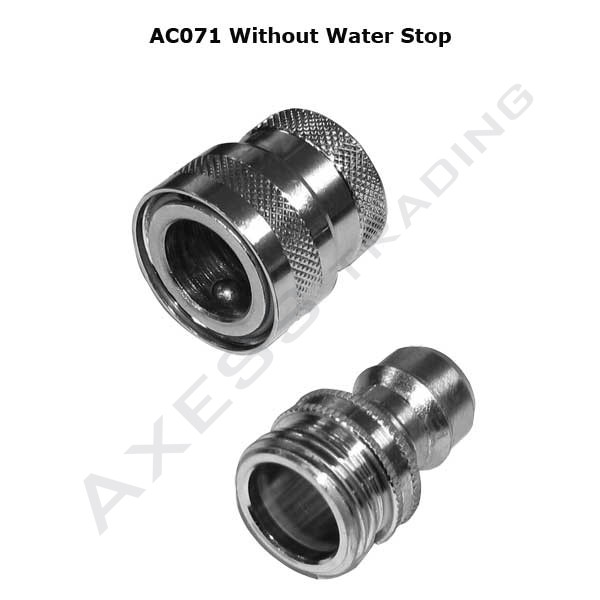 AC070 - SHOWER ACCESSORIES - Quick Release Shower Hose Couplings 1