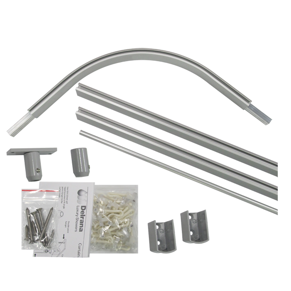 Shower Curtain Rods and Tracks 1