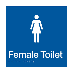 BS.FT - BRAILLE SIGNAGE - Female Toilet 1